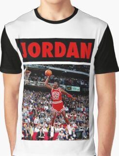 Michael Jordan (Dunk Red) Graphic T-Shirt