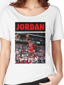 Michael Jordan (Dunk Red) Women's Relaxed Fit T-Shirt