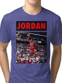 Michael Jordan (Dunk Red) Tri-blend T-Shirt