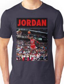 Michael Jordan (Dunk Red) Unisex T-Shirt