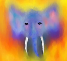 Abstract Elephant  by JohnDSmith