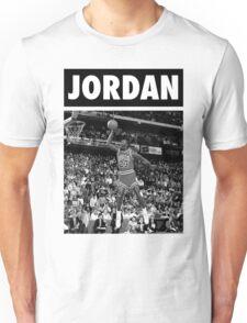 Michael Jordan (Dunk BW) Unisex T-Shirt