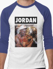 Michael Jordan (Championship Trophy) Men's Baseball ¾ T-Shirt