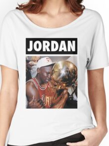Michael Jordan (Championship Trophy) Women's Relaxed Fit T-Shirt