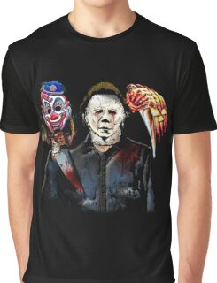 michael myers- past present - masks Graphic T-Shirt