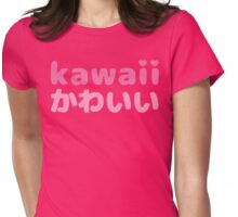 Kawaii Japanese Kanji T Shirt Womens Fitted T-Shirt