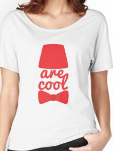 Bowties/Fezzes are Cool Women's Relaxed Fit T-Shirt