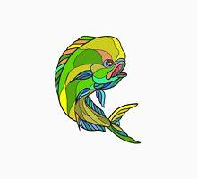 Mahi-Mahi Dorado Dolphin Fish Drawing Unisex T-Shirt