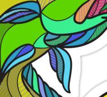 Mahi-Mahi Dorado Dolphin Fish Drawing Sticker