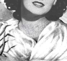 The Black Dahlia, Elizabeth Short Sticker