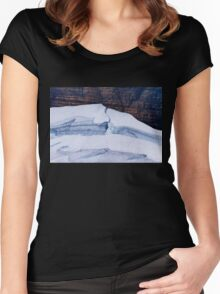 Grinnell Glacier Women's Fitted Scoop T-Shirt