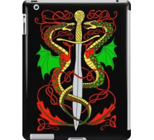 Celtic Sword and Dragons iPad Case/Skin