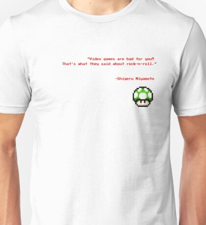 """""""Video games are bad for you?"""" Unisex T-Shirt"""