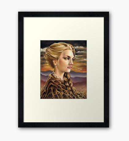 Grounded Framed Print