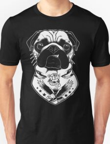 Tattooed Dog - Pug Unisex T-Shirt