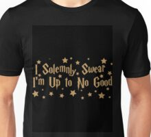 "Harry Potter ""I Solemnly Swear I'm Up To No Good"" print Unisex T-Shirt"
