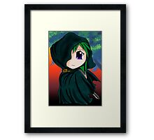 chibi thief Framed Print