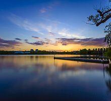Wimbledon Park Sunset by Matt Malloy