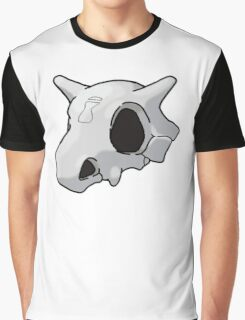 Cubone Sand Village Skull Graphic T-Shirt