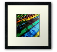 rainbow inside Framed Print