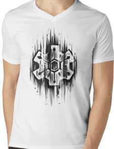Time Gear V. 2 Mens V-Neck T-Shirt
