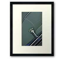 1956 Chevy Custom Knob Framed Print