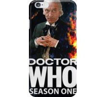 Doctor Who *Classic* Season 1 iPhone Case/Skin