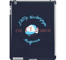 He Was Number One iPad Case/Skin