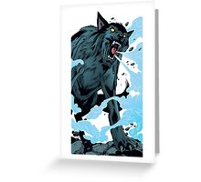 Huff'N'Puff, Bigby Wolf, FABLES / The Wolf Among Us Greeting Card