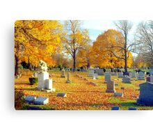 Autumn of our Lives  Canvas Print