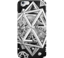 MC Escher Halftone iPhone Case/Skin