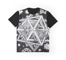 MC Escher Halftone Graphic T-Shirt