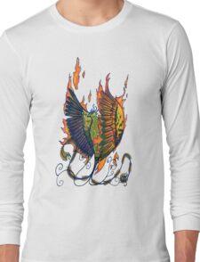 Phoenix Doodle Long Sleeve T-Shirt