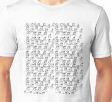 Cool Dude Skateboard Cat Unisex T-Shirt