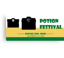 Potion Festival, Pokemon Alternate Canvas Print