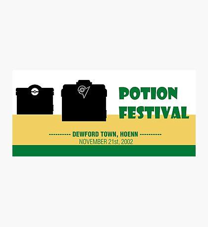 Potion Festival, Pokemon Alternate Photographic Print