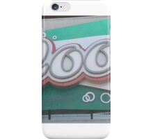 club cool epcot iPhone Case/Skin