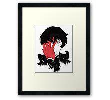 Black Reaper Framed Print