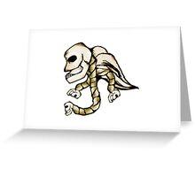 Angel Skull Greeting Card
