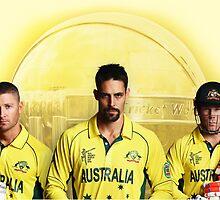Cricket Australia by Nobuo Nobuyuki