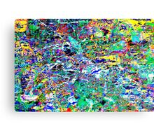 Spazmelodic Canvas Print