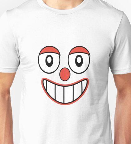 Happy Clown Cartoon Drawing Unisex T-Shirt