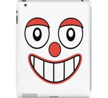 Happy Clown Cartoon Drawing iPad Case/Skin