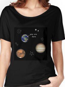 Scrapbook Universe Women's Relaxed Fit T-Shirt