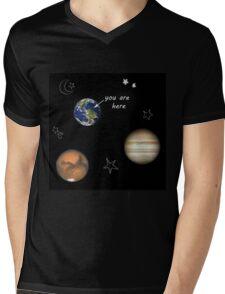 Scrapbook Universe Mens V-Neck T-Shirt