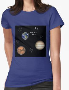 Scrapbook Universe Womens Fitted T-Shirt
