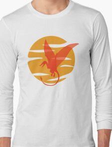 Flying Pterosaur Long Sleeve T-Shirt