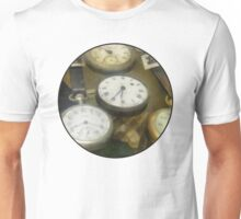 Vintage Pocket Watches Unisex T-Shirt
