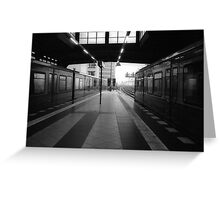 S-Bahnhof Alexanderplatz Greeting Card