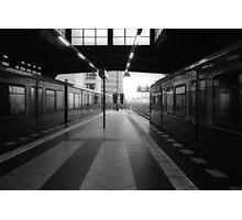 S-Bahnhof Alexanderplatz Photographic Print